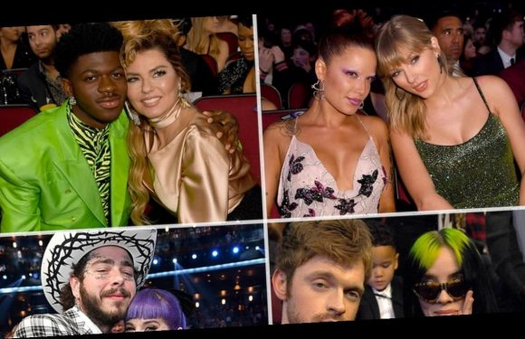 AMAs 2019 Brought Out the Biggest & Brightest Stars Behind the Scenes