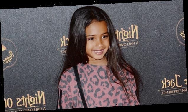 Royalty Brown, 5, Looks So Happy Posing For The Camera After Dad Chris Brown Welcomes Baby #2