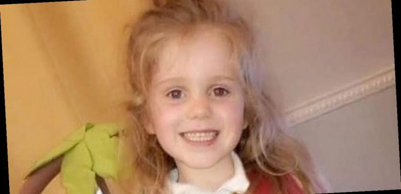 Girl, 5, died in parents' arms days after coming home ill from Christmas party