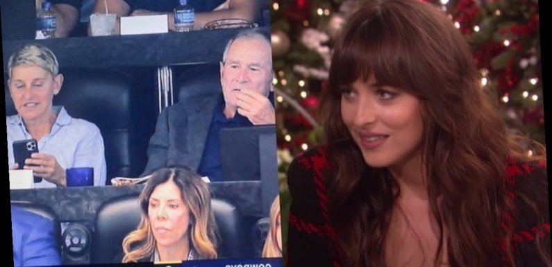 This Plot Twist Just Made That Ellen Degeneres Dakota Johnson Interview Even More Awkward