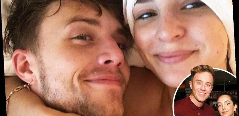 I'm A Celeb's Roman Kemp pictured naked in bed with girlfriend Anne-Sophie as pair are finally reunited – The Sun