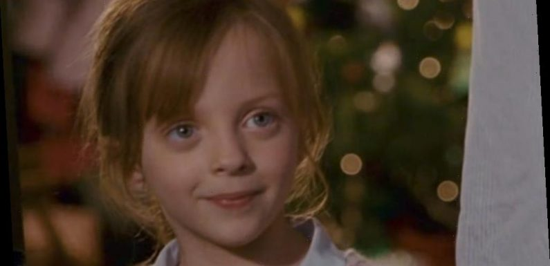 The girl from The Holiday grew up to be stunning