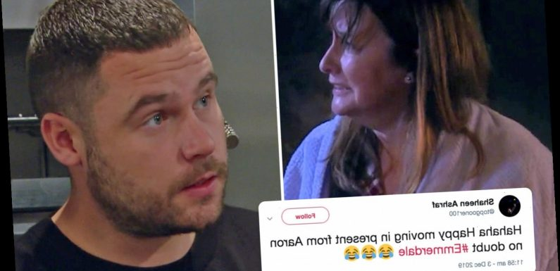 Emmerdale fans convinced Aaron Dingle is to blame for attack on rapist Lee's mum Wendy – The Sun