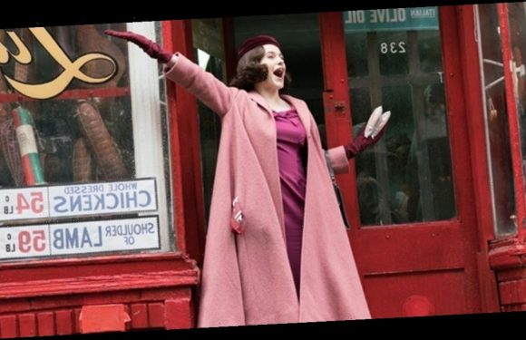 The Secret Meaning Of The Color Pink In 'Marvelous Mrs. Maisel'