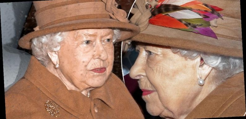 The Queen has been seen wearing a hearing aid for the first time