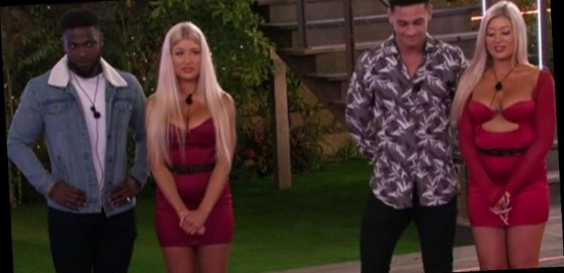 Love Island fans fuming as twins Eve and Jess break up two couples