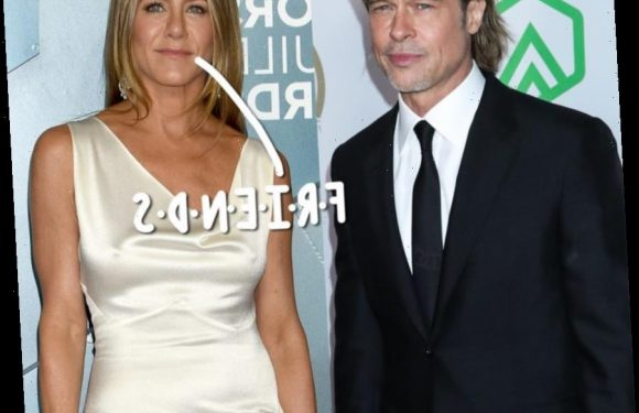 Jennifer Aniston Is 'Happy' To Have Brad Pitt Back In Her Life… As A 'Friend'!