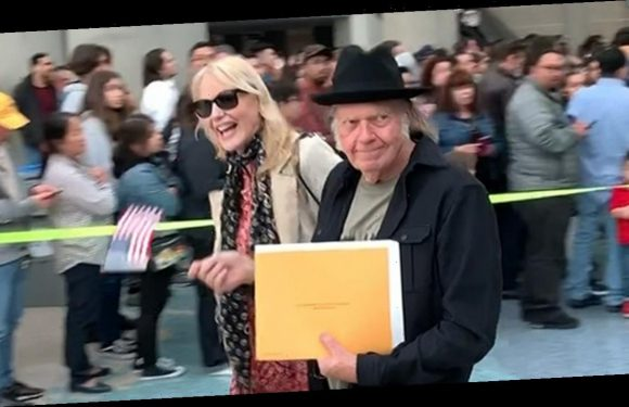 Neil Young Gets American Citizenship After Delay Over Marijuana Use