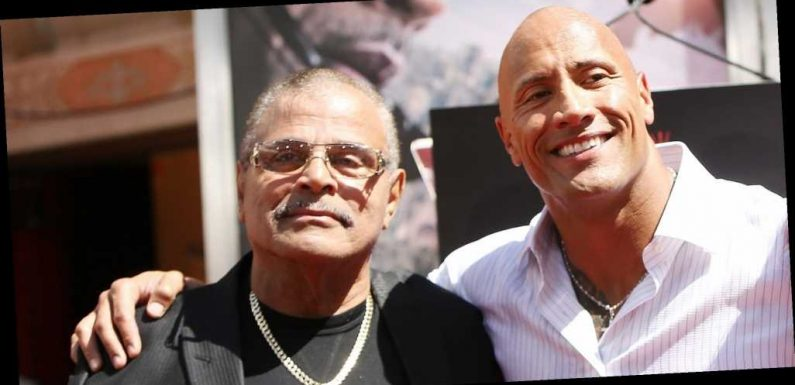 The Rock Posted a Moving Instagram Tribute to His Late Father