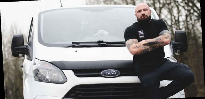 Man who loves cleaning left school at 16 and earns £3,000 a week valeting cars