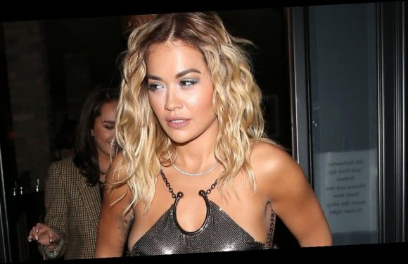 Rita Ora flaunts boobs as she goes braless in see-though top for sexy exposé
