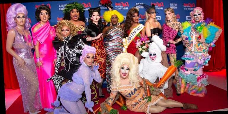 'RuPaul's Drag Race' Season 12 Cast Celebrate Their Big Premiere In NYC – See All The Looks Here!