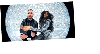 SZA Is Literally Shining in Her New Music Video with Justin Timberlake