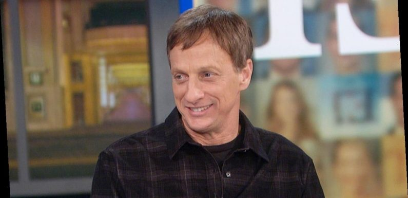 Tony Hawk Talks 'Masked Singer' Unveiling & How His Kids Reacted