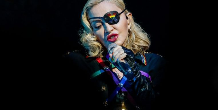 Madonna angry after sound system is switched off at 11pm in London gig when she's still singing