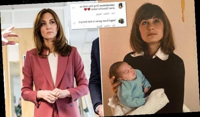 Kate Middleton looks like mother Carole in a Mother's Day snap