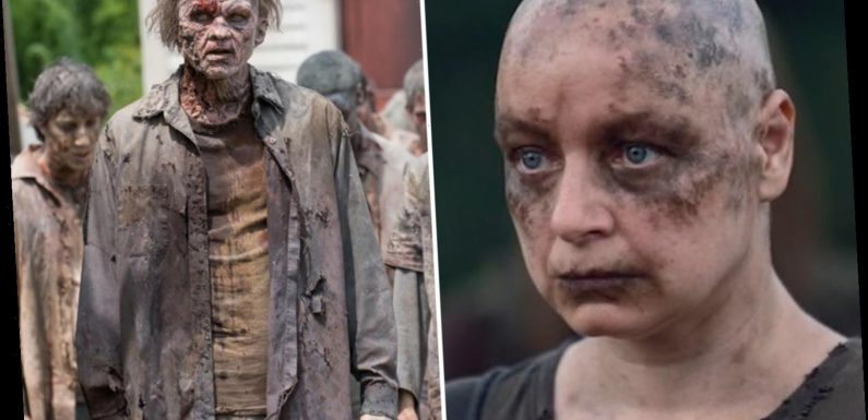 The Walking Dead's Samantha Morton admits 'awful, scary' zombie extras left her terrified on set