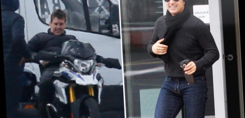 Tom Cruise films opening scene for Mission: Impossible 7 in Surrey after moving set from Italy amid coronavirus pandemic – The Sun