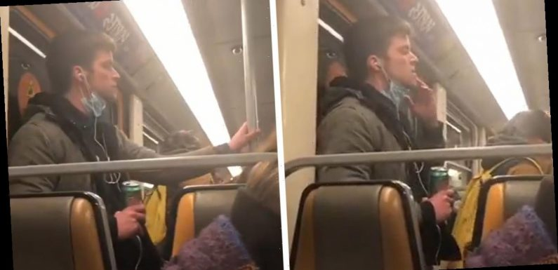 Belgian Man Detained After Video Of Him Wiping Saliva on Subway Handrails Goes Viral