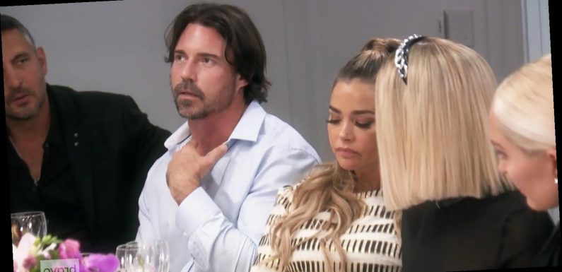 'RHOBH' Stars React to Awkward Dinner Party With Denise's Husband Aaron