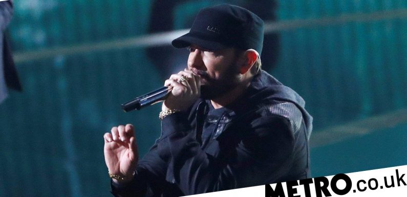 Eminem comes face-to-face with home intruder who snuck into his Detroit property