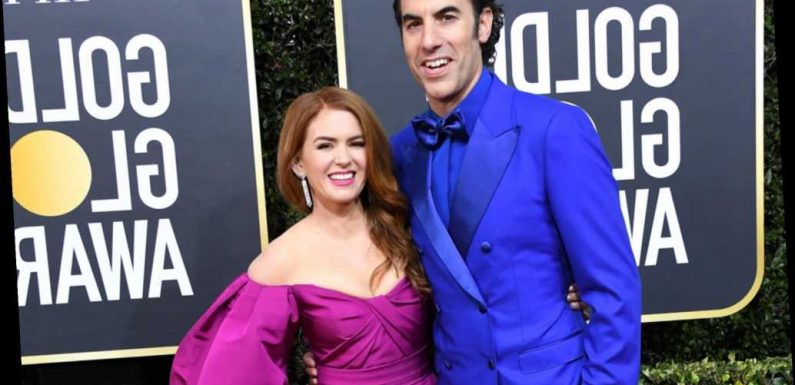 Sacha Baron Cohen and Isla Fisher send planeload of PPE to UK frontline workers