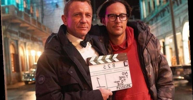 'No Time to Die' Clapperboard Auctioned Off to Raise Money for NHS