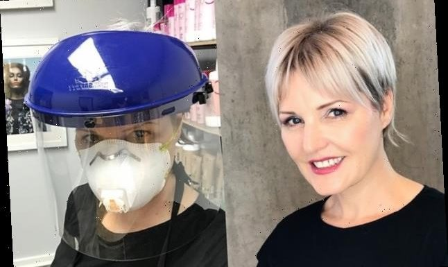 A Hairstylist Shared How She's Trying To Stay Safe After Reopening Her Salon During The Coronavirus Pandemic