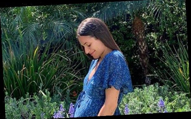 Lea Michele Shares Baby Bump Pic to Confirm She's Expecting!
