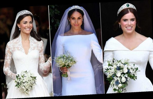 21 of the most stunning royal wedding bouquets, including Princess Eugenie, Meghan Markle and Kate Middleton