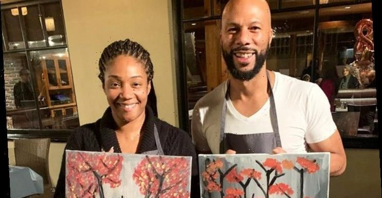 Tiffany Haddish Shows Off Common in Her Kitchen While Quarantining Together