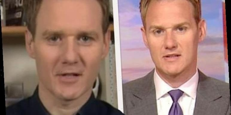 Dan Walker forced to apologise live on-air after Football Focus outburst 'F******'
