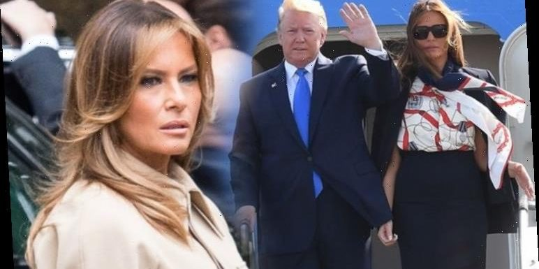 The subtle way Melania Trump shows she is angry with husband Donald