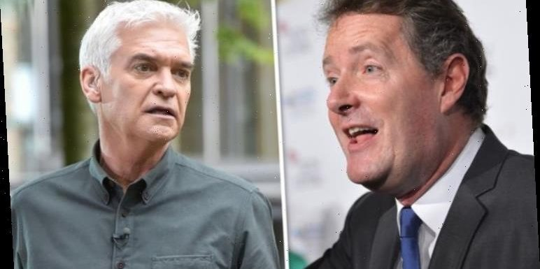 Piers Morgan's threat to 'take down' This Morning's Phillip Schofield revealed