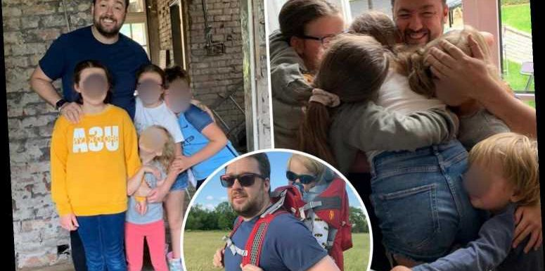 Jason Manford shares rare snaps with his six kids as he marks 'lovely' Father's Day – The Sun