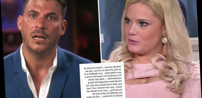 90 Day Fiancé's Ashley Martson claims Vanderpump's Jax Taylor called her 'poor white trash' as fans demand he be fired – The Sun