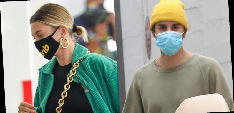 Justin Bieber is Joined by Wife Hailey for Skin Care Clinic Appointment