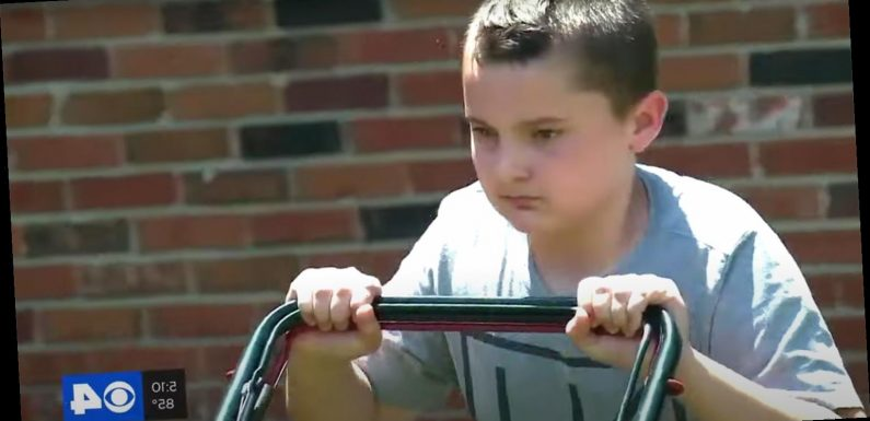 11-Year-Old Boy Mows Lawns to Raise Money for Black Lives Matter: 'I Decided to Make a Change'