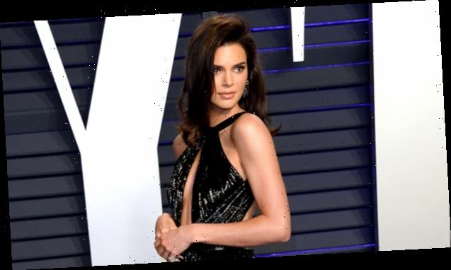 Kendall Jenner Stuns In A Sexy Black Bodysuit While Promoting Kylie Cosmetics — Watch