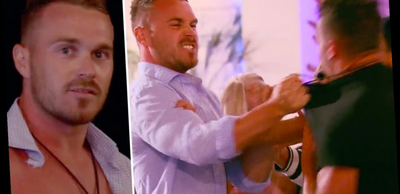 Love Island Australia fans furious as physical fight breaks out – but Grant isn't removed after ripping Eden's shirt
