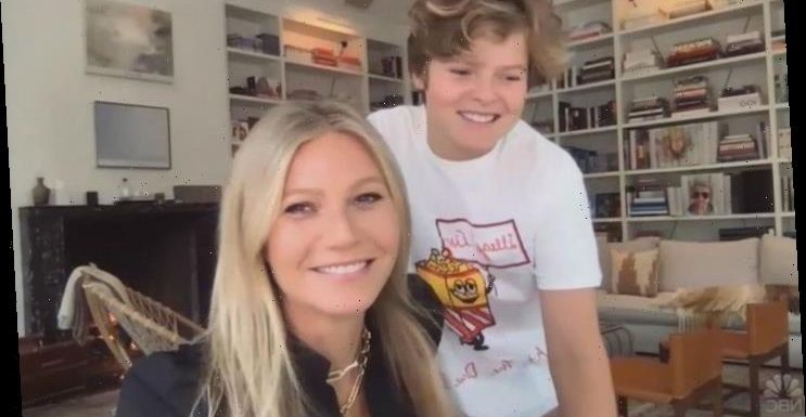 Gwyneth Paltrow Gifts Teen Son Moses Boob Puzzle During Lockdown