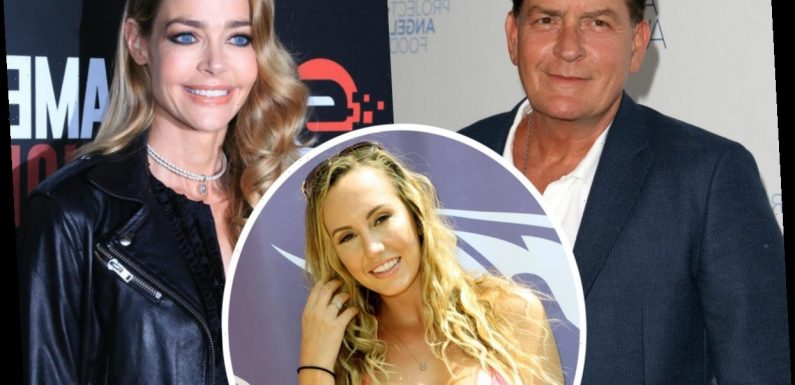 Denise Richards Did NOT Ask For A 'Creepy Threesome' With Charlie Sheen & His Porn Star Ex: SOURCE