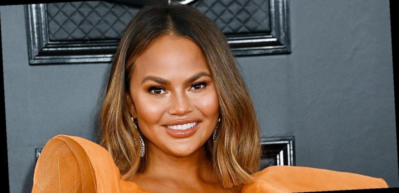 Chrissy Teigen's First Pregnancy Look Features $3,575 of Designer and a $2 Face Mask