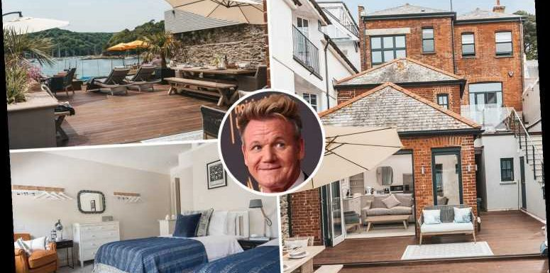 Gordon Ramsay is selling one of his Cornish homes for £2.75 million after months of rows with locals over lockdown rules