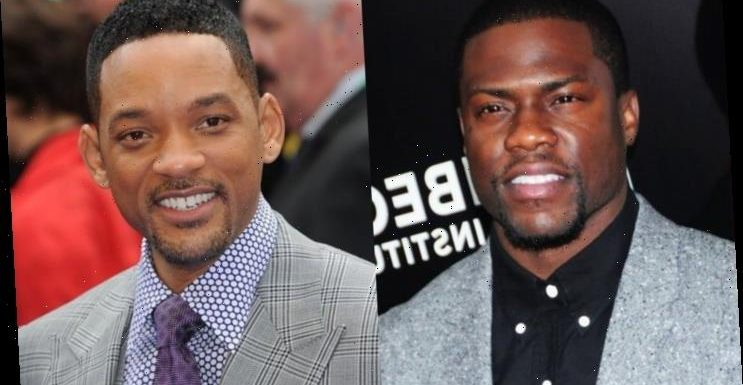 Kevin Hart Already Teases Bromance With Will Smith in 'Planes, Trains and Automobiles' Remake