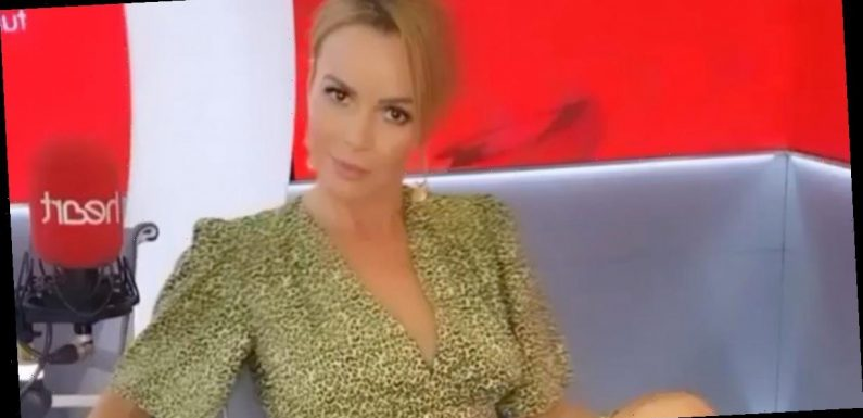 Amanda Holden delights BGT fans as she nearly flashes followers