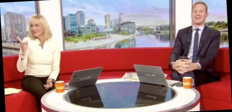 Louise Minchin 'forgets she's hosting BBC Breakfast' in awkward on-air blunder