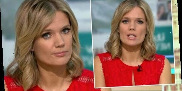Charlotte Hawkins left red-faced after awkward GMB blunder: 'Didn't know we were on!'