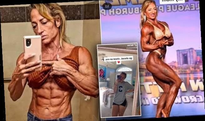Bodybuilding mother stuns TikTok with her bulging muscles and six-pack