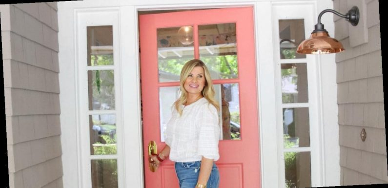 How a Vibrant Front Door Sets the Tone For This DIY Enthusiast's Entire Home Life